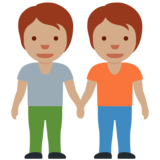 People Holding Hands: Medium Skin Tone on Twitter Twemoji 12.1.4
