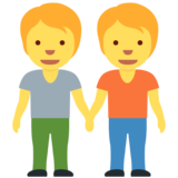 People Holding Hands on Twitter Twemoji 12.1.4