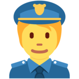 Police Officer on Twitter Twemoji 12.1.4