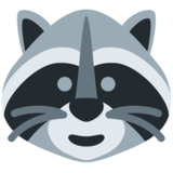 Raccoon on Twitter Twemoji 12.1.4