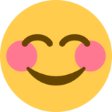 Smiling Face with Smiling Eyes on Twitter Twemoji 12.1.4