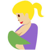Breast-Feeding: Medium-Light Skin Tone on Twitter Twemoji 12.1.5