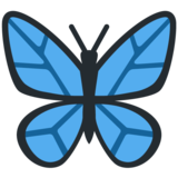 Butterfly on Twitter Twemoji 12.1.5