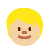 Child: Medium-Light Skin Tone on Twitter Twemoji 12.1.5