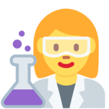 Woman Scientist on Twitter Twemoji 12.1.5