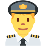 Man Pilot on Twitter Twemoji 12.1.5