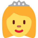 Princess on Twitter Twemoji 12.1.5