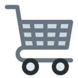 Shopping Cart on Twitter Twemoji 12.1.5