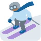 Skier, Type-5 on Twitter Twemoji 12.1.5