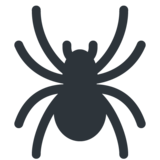 Spider on Twitter Twemoji 12.1.5