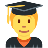 Student on Twitter Twemoji 12.1.5