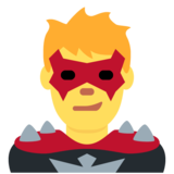 Man Supervillain on Twitter Twemoji 12.1.6