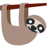 Sloth on Twitter Twemoji 12.1.6