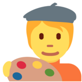 Artist on Twitter Twemoji 13.0