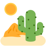 Desert on Twitter Twemoji 13.0
