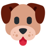 Dog Face on Twitter Twemoji 13.0