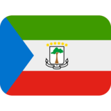 Flag: Equatorial Guinea on Twitter Twemoji 13.0