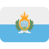 Flag: San Marino on Twitter Twemoji 13.0