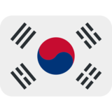 Flag: South Korea on Twitter Twemoji 13.0