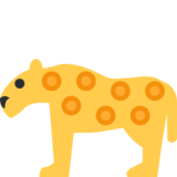 Leopard on Twitter Twemoji 13.0