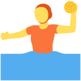Person Playing Water Polo on Twitter Twemoji 13.0