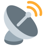 Satellite Antenna on Twitter Twemoji 13.0