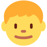 Boy on Twitter Twemoji 13.0.1