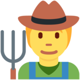 Farmer on Twitter Twemoji 13.0.1