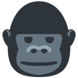 Gorilla on Twitter Twemoji 13.0.1