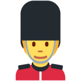 Guard on Twitter Twemoji 13.0.1