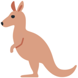 Kangaroo on Twitter Twemoji 13.0.1