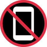 No Mobile Phones on Twitter Twemoji 13.0.1