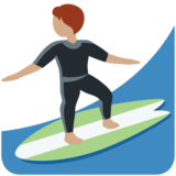 Person Surfing: Medium Skin Tone on Twitter Twemoji 13.0.1