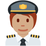 Pilot: Medium Skin Tone on Twitter Twemoji 13.0.1