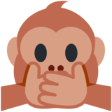 Speak-No-Evil Monkey on Twitter Twemoji 13.0.1
