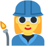 Woman Factory Worker on Twitter Twemoji 13.0.1