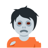 Zombie on Twitter Twemoji 13.0.1