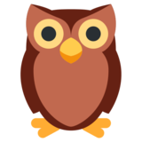 Owl on Twitter Twemoji 13.0.2