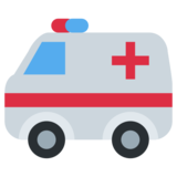 Ambulance on Twitter Twemoji 1.0