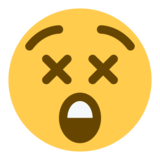 Astonished Face on Twitter Twemoji 1.0