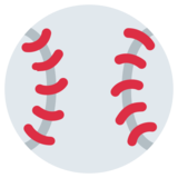 Baseball on Twitter Twemoji 1.0