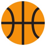 Basketball on Twitter Twemoji 1.0