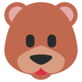 Bear on Twitter Twemoji 1.0