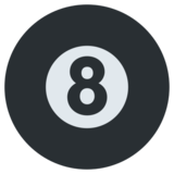 Pool 8 Ball on Twitter Twemoji 1.0