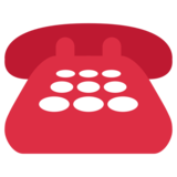 Telephone on Twitter Twemoji 1.0