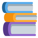 Books on Twitter Twemoji 1.0