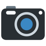 Camera on Twitter Twemoji 1.0