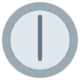 Six O'Clock on Twitter Twemoji 1.0