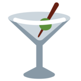 Cocktail Glass on Twitter Twemoji 1.0