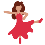 Woman Dancing on Twitter Twemoji 1.0